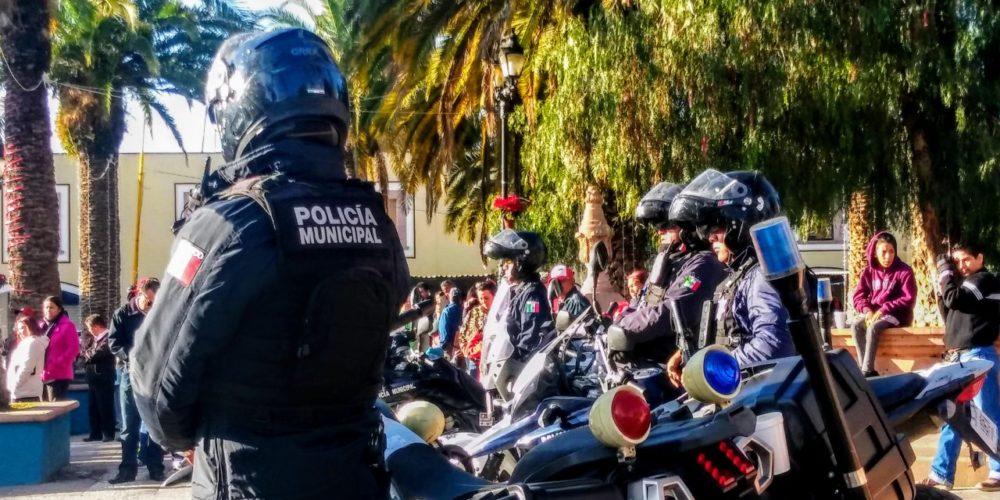 Policía de JM, sin afectaciones por falta de combustibles