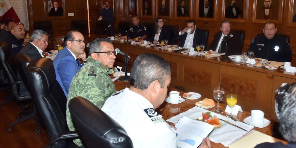 Se reúne el Comité de Coordinación para la Construcción de la Paz en Ags