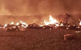 Mueren calcinadas 20 personas por explosión en ducto de Pemex en Hidalgo