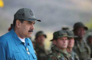 EU ofrece 'amnistía' a militares que abandonen a Maduro