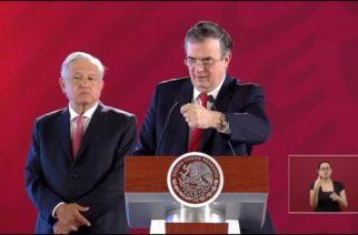 Renunció Marcelo Ebrard. No le aceptaron su dimisión