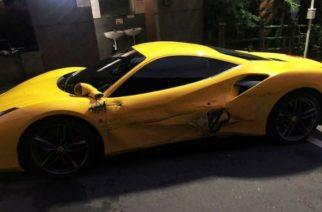 Taiwán se solidariza con joven pobre que chocó 4 Ferraris por accidente