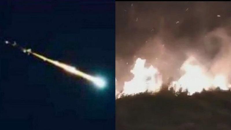 Lo que faltaba… cae meteorito en Venezuela