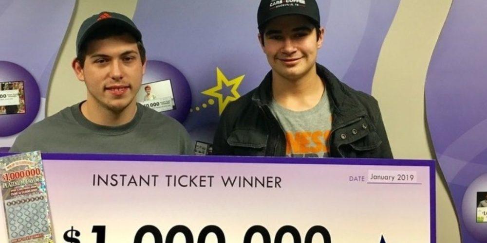 Un joven de Tennessee gana la lotería el día de su cumpleaños