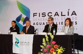 Reconoce GobAgs labor de Figueroa al frente de la Fiscalía