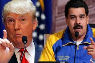 Trump se niega a reunirse con Maduro y plantea intervención militar en Venezuela