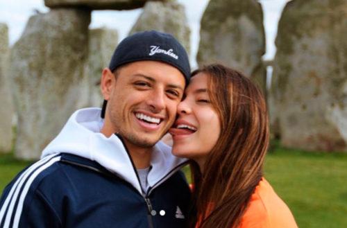 """""""Chicharito"""" se casó con Sarah Kohan, aseguran"""