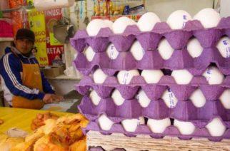 Pese a baja, huevo sigue por las nubes… está en $64 en regiones