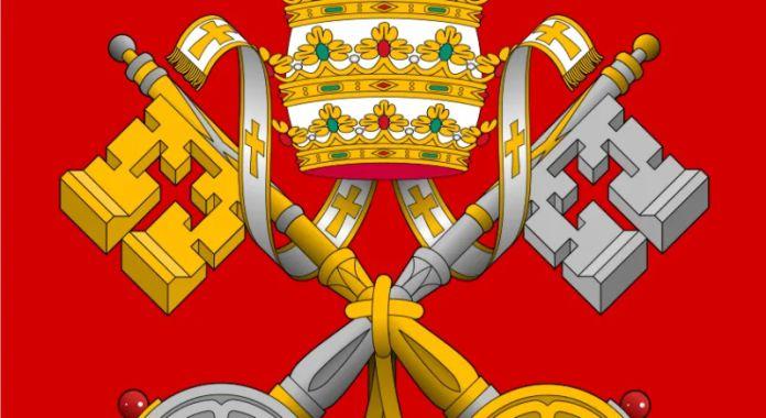 Qué representan el par de llaves en el escudo del Vaticano y a qué sitio dan acceso