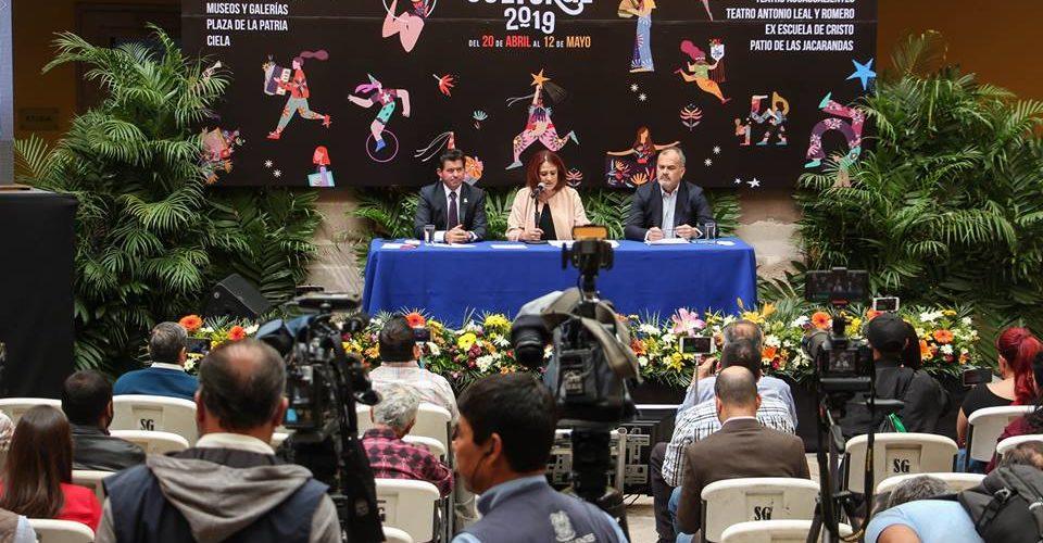 Presentan programa cultural de la FNSM 2019