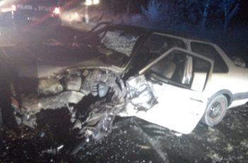 Se registra aparatoso accidente en la carretera a Coyotes