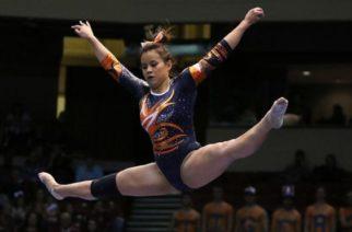 Gimnasta se rompe las dos piernas en plena competencia