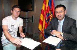 "El Barcelona pretende renovar a Leo Messi ""para siempre"""