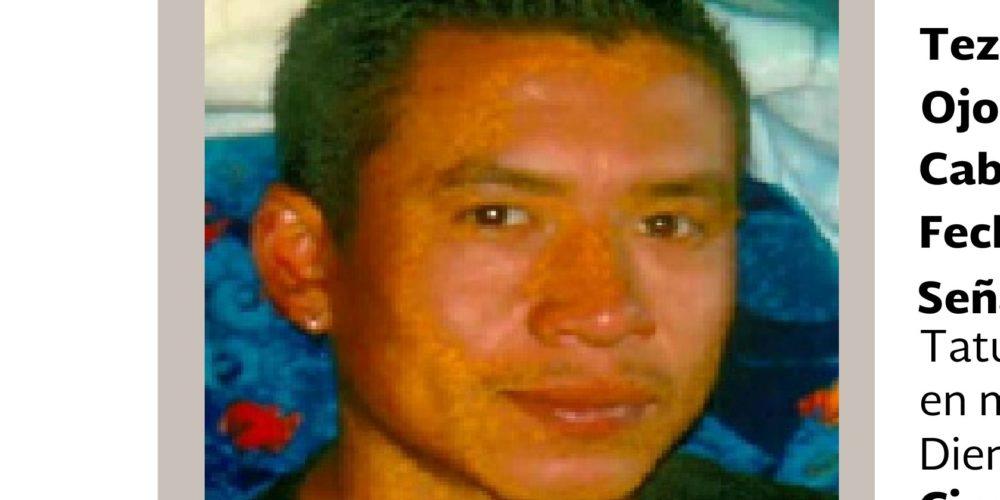 Joven desaparecido en Zacatecas es buscado en Aguascalientes