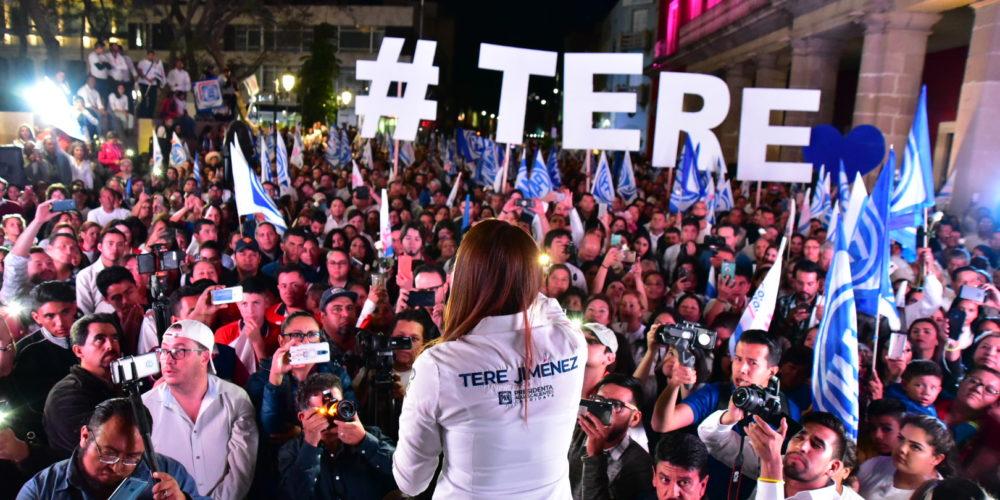 Con propuesta, cercana y comprometida inició Tere Jiménez su campaña