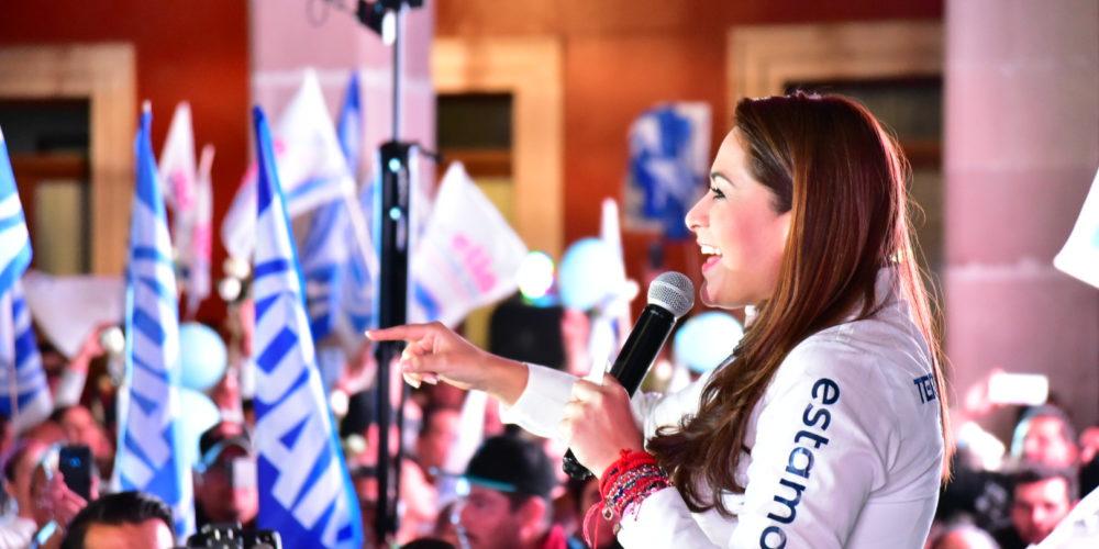 La apatía y la desesperanza son nuestros enemigos y los vamos a vencer: Tere Jiménez