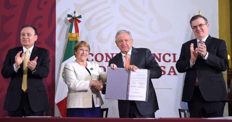 """Bachelet se va desolada de tanto horror en México: """"No sabía de todo lo que me he encontrado…"""""""