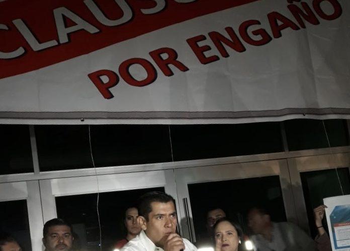 """Netzahualcoyotl Ventura """"clausura"""" VEOLIA por engañar a Aguascalientes"""