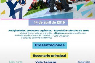 Checa aquí las actividades de Pa´ Dominguear en Carranza para este 14 de abril