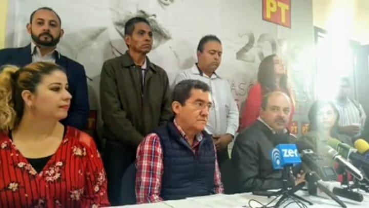 PT presenta a sus candidatos a alcaldes en Aguascalientes