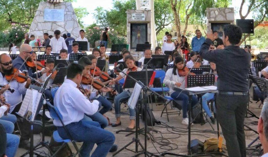 Se presenta la Orquesta Sinfónica de Jesús María en el Cristo Roto