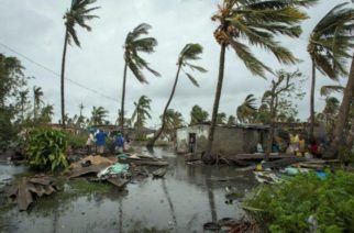 Mujer da a luz en un árbol tras inundaciones del ciclón Idai