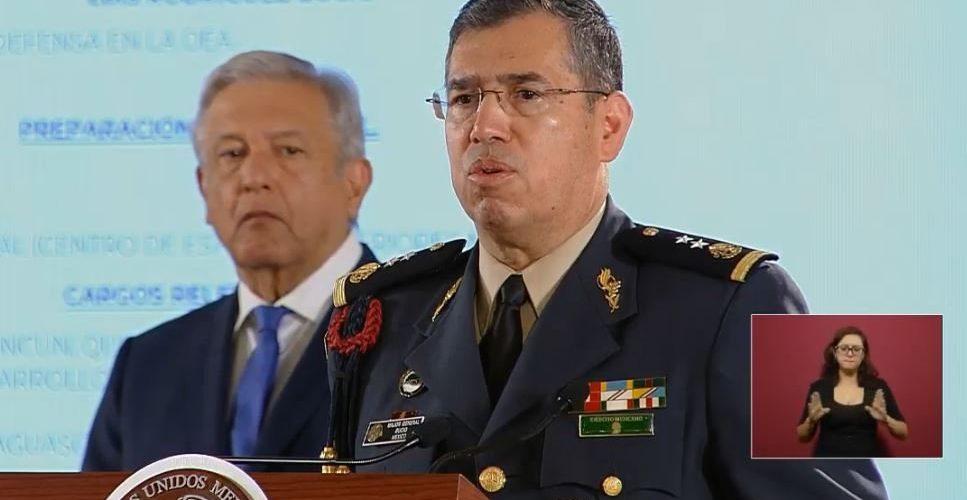 Luis Rodríguez Bucio, nombrado comandante de la Guardia Nacional