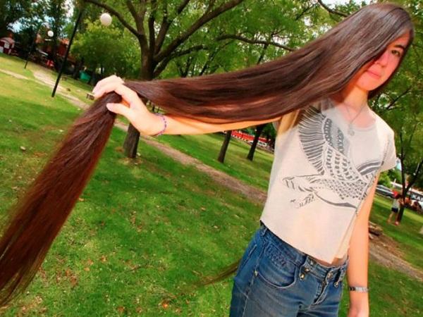 """""""Rapunzel argentina"""" rompe récord guiness al cabello más largo"""