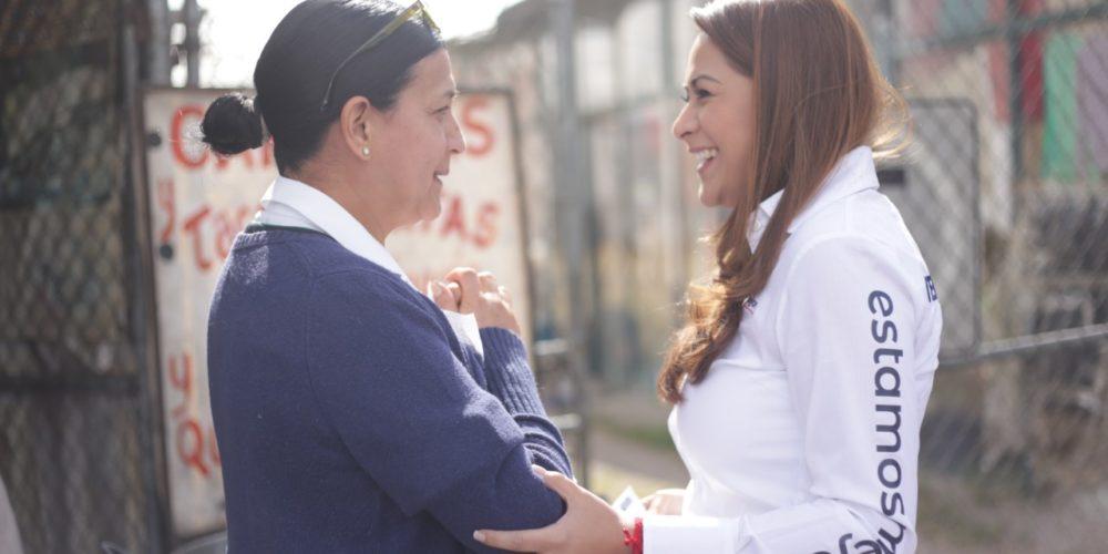 Pide Tere Jiménez respeto entre los contrincantes políticos