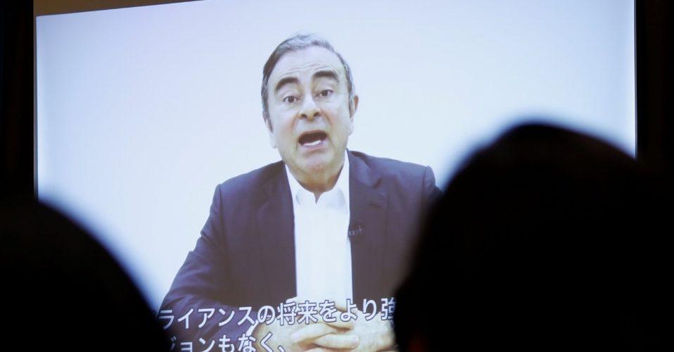 Carlos Ghosn dice ser inocente y acusa a Nissan de complot