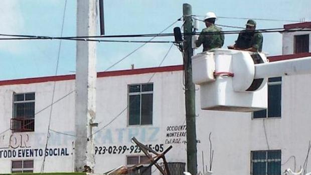 Quitan cámaras de vigilancia instaladas por narcos en Reynosa