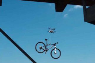Roban con dron bicicleta a ciclistas descuidados