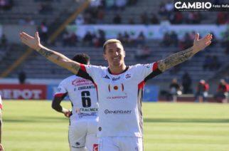Leo Ramos delantero de Lobos BUAP en la mira de Necaxa
