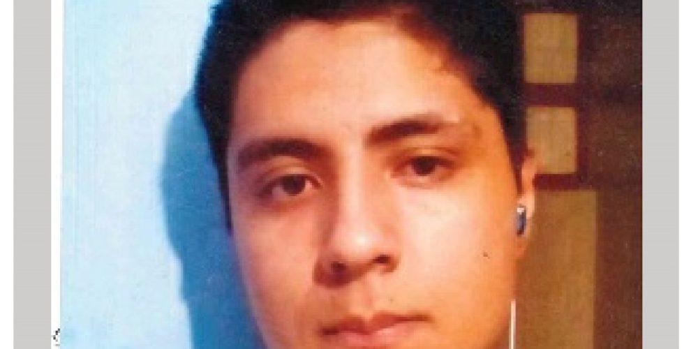 Moisés desapareció en Jalisco lo buscan en Aguascalientes