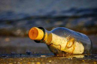 Hallan botella con mensaje en Japón; sería de mexicana