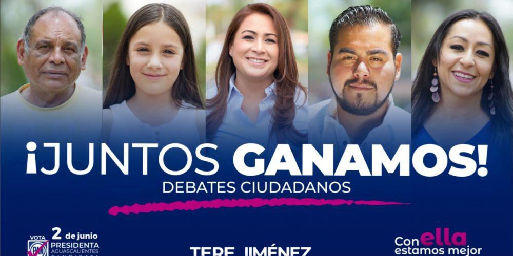 Encuesta le da el triunfo a Tere Jiménez en el debate de la Coparmex