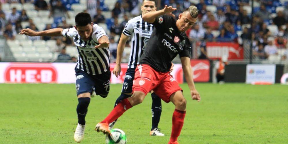 Monterrey elimina a Necaxa