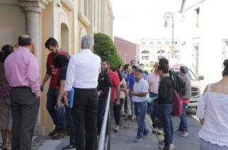Desalojan edificio de la SEDUM por fuga de gas en Aguascalientes
