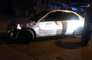 3 adolescentes heridos y 1 detenido deja choque de moto vs auto en Rincón de Romos