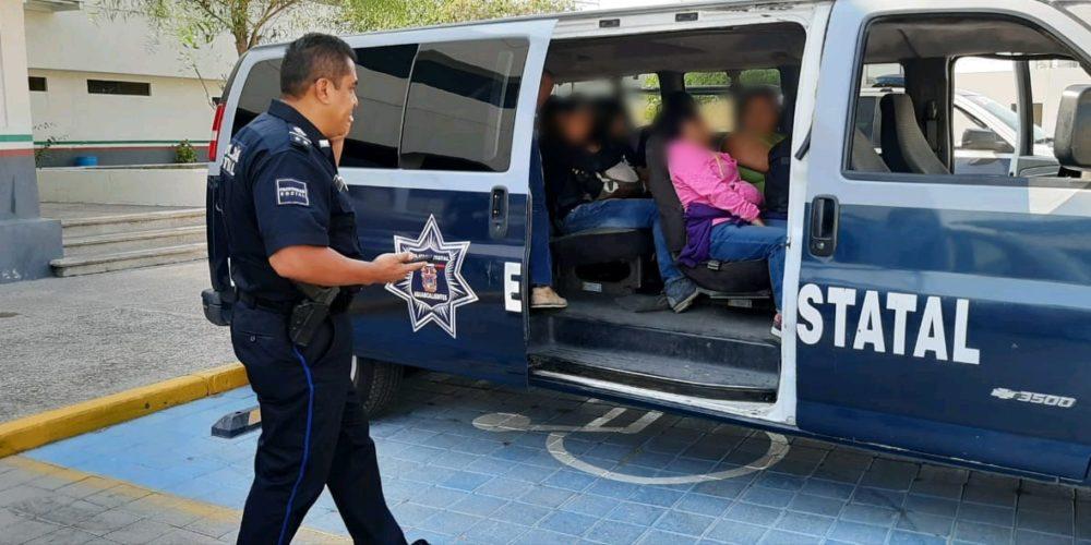 Aseguran a 15 migrantes en Aguascalientes, viajaban en Uber