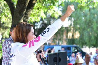 Compromete Tere Jiménez seguir reforestando Aguascalientes
