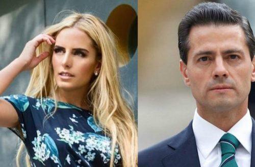 Ya no se esconde más Peña Nieto con Tania Ruiz