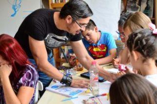 Reconocidos artistas realizan talleres en el Corredor Cultural Carranza