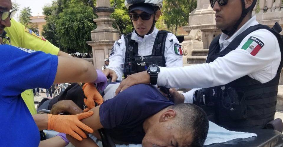 Muere sujeto que arrojó ácido muriático a un niño y una mujer en Aguascalientes