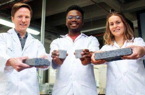 En Sudáfrica crean bioladrillos a base de… orina