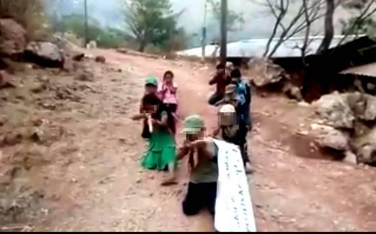 Niños se unen a grupos autodefensas en Guerrero