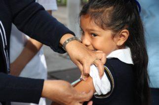 Aplicarán vacuna contra el papiloma a niñas de 5o año en Aguascalientes