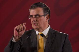 Marcelo Ebrard a Migrantes: No queremos que atraviesen el país