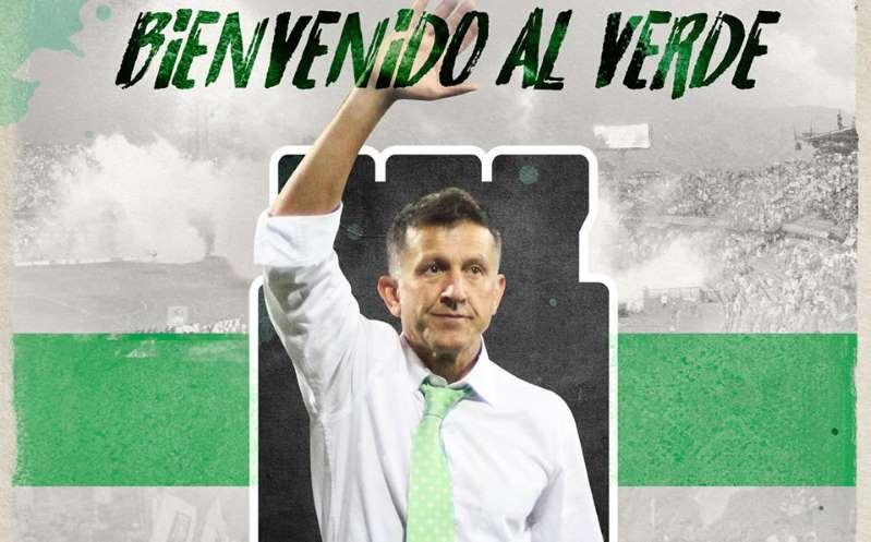Juan Carlos Osorio, ex DT México, es nuevo entrenador del Atlético Nacional