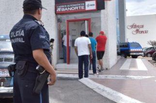 Policía municipal apoya en 268 traslados de valores para evitar asaltos